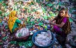色彩斑斕下,孟加拉的貧窮女工!