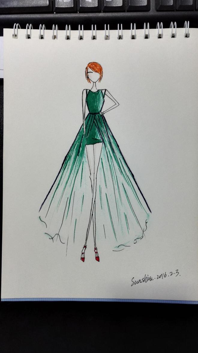 服裝設計作品
