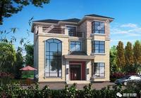 大家常建的兩種風格別墅,第一棟簡歐式,第二棟陽臺大而多