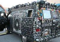 洛杉磯男子買了輛新車,裝了三百個攝像頭,網友:這車可以隱形