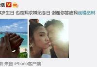 李榮浩楊丞琳什麼時候公開的 李榮浩求婚成功超激動