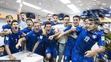 2017U20世界盃1/4決賽:意大利3-2贊比亞 眾將賽後更衣室激情慶祝