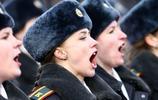 美麗的白俄羅斯女警