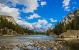 美麗悠然的加拿大班夫國家公園,欣賞美麗的自然風光,愉悅心情