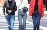 美國女星吉吉-哈迪德、貝拉-哈迪德與母親三人親密出街,吸睛無數