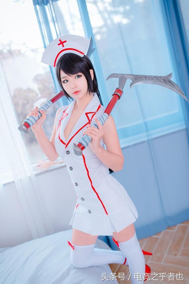LOL實習護士阿卡麗cosplay