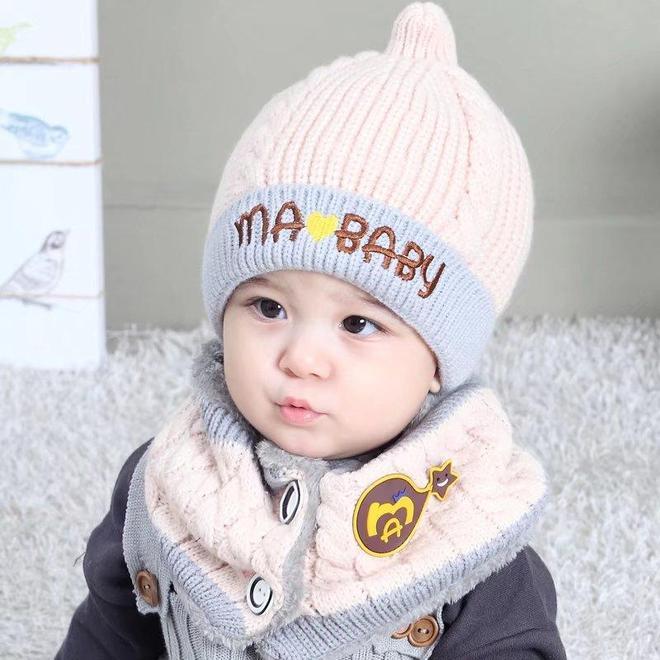 誰戴誰美寶寶帽!冬天來了趕緊為你家寶寶準備一頂帽子吧,超萌