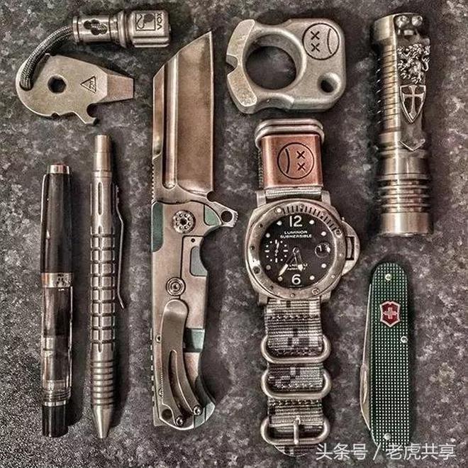鐵血軍事 EDC,硬漢們的隨身酷玩裝備