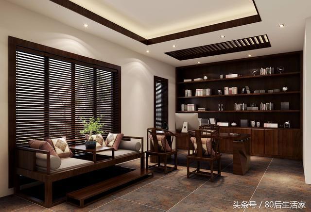 空間設計—書房—地下室書房