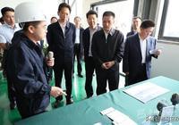 劉成鳴肖友才在成甘工業園調研時強調 努力把成甘工業園建成全省區域合作的典範