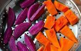 這樣做南瓜紫薯餅!內軟外酥,香甜可口!老人小孩都愛吃