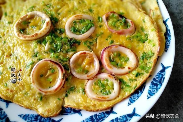 2個雞蛋兩勺面,做一份鮮到極致的早餐,早起5分鐘做好,懶人享受