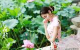 愛蓮的人也像蓮花一樣美