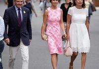 凱特王妃妹妹又穿粉大衣,換個髮型最少年輕10歲,終於信你是36歲