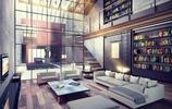 工業風格loft家居設計裝修效果圖