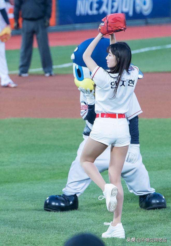 安智賢高清圖片 樂天巨人(Lotte Giants)啦啦隊長