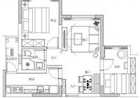 70平米兩居室裝修花了11萬,雖比不上樣板間,但實用接地氣,滿意