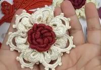 不一樣的鉤編方法,鉤編不一樣的愛爾蘭花朵,趕快來學習