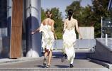 解析白色連衣裙怎麼穿,五一出遊照搬這幾套就對了