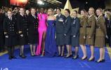 美國女演員布萊拉森參加驚奇歐洲船長晚會