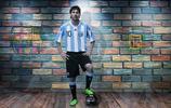 """萊昂內爾·安德列斯·梅西,綽號""""新馬拉多納"""",阿根廷著名足球運動員"""