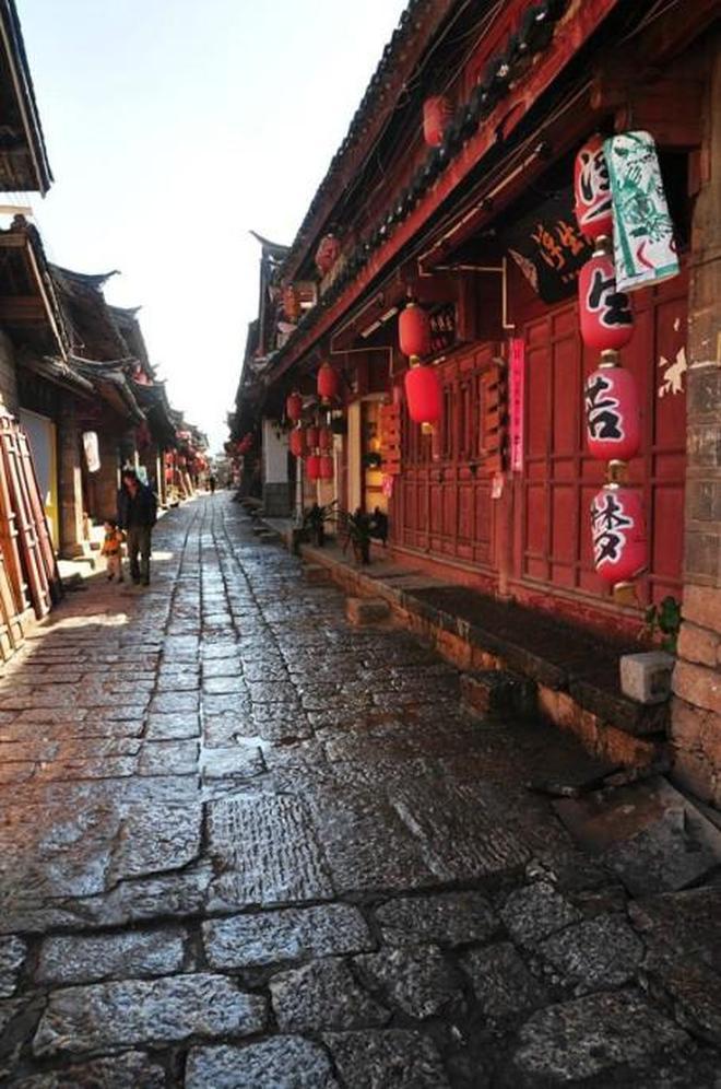 旅途中 雲南麗江白沙古鎮 木氏土司家族的發源地
