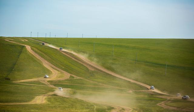 穿越祖國正北方,穿越內蒙古大草原