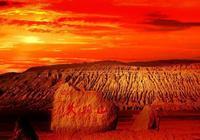 新疆吐魯番的火焰山