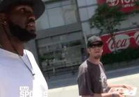 格雷格-奧登大帝現身洛杉磯街頭, 暢談大學生活表示太難了