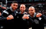 NBA老照片:帕克宣佈退役,一起回顧法國小跑車的光輝歲月