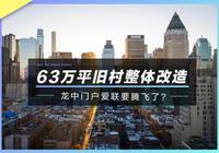 63萬平舊村整體改造,龍中門戶愛聯要騰飛了?