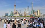 """端午小長假 上海景點遊客人滿為患 上演""""人從眾""""模式"""