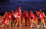大型民族舞蹈晚會《行進的風采》寫實感人