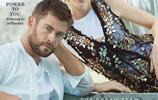 雷神 克里斯·海姆斯沃斯與死神海拉合體登澳洲《Vogue》