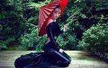張馨予幹練丸子頭 黑色長裙 妖卻素如蓮 冷豔卻不失婉約