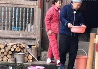 沈夢辰杜海濤回農村老家,看早上的洗頭方式
