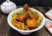 腐竹土豆燒翅根,腐竹,土豆,和翅根搭配一起紅燒,特別入味好吃