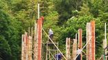 上饒鄉村65歲老人帶老年建築隊,早晨5點澆混凝土,一年賺8萬