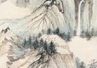 張大千山水畫欣賞
