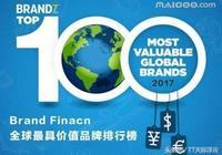 全球最具價值品牌排行 蘋果屈居第二 中國企業只有它殺入前十