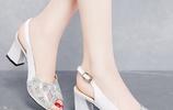 漂亮女人打死也離不開的高跟鞋,顯高顯腿長,跟普通人穿的不一樣