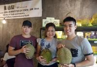 新加坡首家榴蓮咖啡座開業,快去體驗一下!