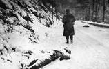 二戰老照片:圖三冰雪覆蓋了她的身體,圖8直擊戰爭的殘酷