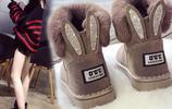 這才是冬天最美的女靴棉鞋,舒適防滑又保暖,不凍腳又洋氣