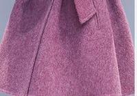 穿毛呢大衣儘量別配緊身褲,學下圖女人這樣穿,盡顯女人嫵媚氣質