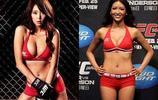 綜合格鬥UFC亞洲第一舉牌女郎李貞秀展完美身材,熱血與性感共存