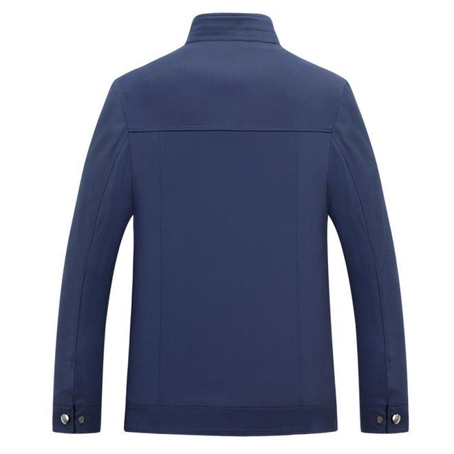 """適合中老年的上海""""薄夾克"""",給爸爸買了3件,高端舒適又顯年輕"""