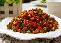 豌豆炒肉末,豌豆營養豐富,和肉末搭配,有肉的香味,豌豆的鮮甜