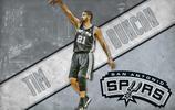 NBA超級巨星電腦壁紙-石佛 蒂姆 鄧肯 還想看誰的