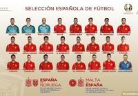 西班牙大名單:科克與薩烏爾,伊斯科,蒂亞戈落選